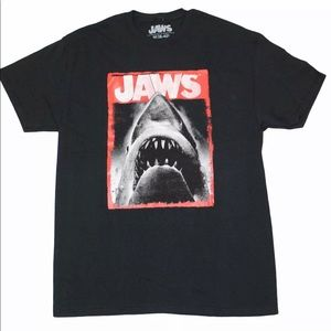Jaws NWOT SIZE Small (34-36) T-Shirt Black